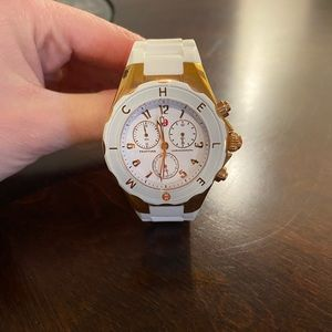Authentic Michele Jelly Tahitian Watch